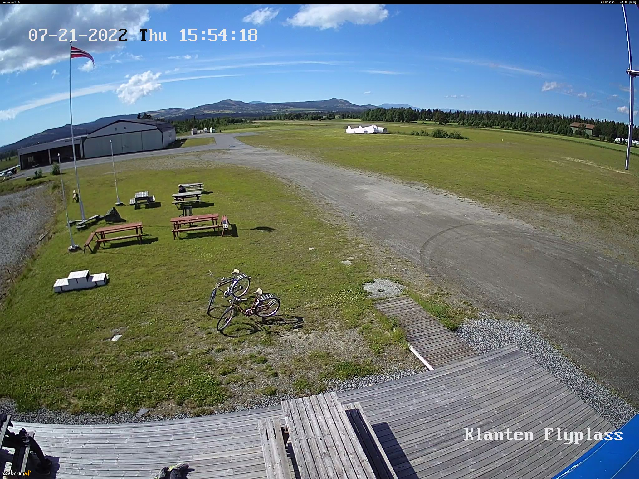 WebCam Storefjelltoppen 1149 moh, Golsfjellet, Gol, Hallingdal, Norge